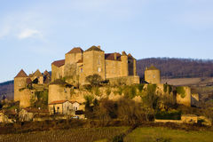 Berze-le-Chatel. In Burgundy, France Royalty Free Stock Photos