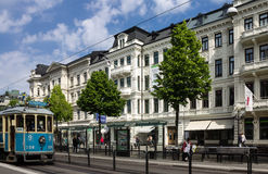 Berzeligatan Tram Gothenburg Sweden Stock Image
