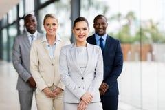 Überzeugte Geschäftsleute Lizenzfreies Stockbild