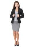 Überzeugte junge Geschäftsfrau Lizenzfreies Stockfoto