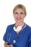Überzeugter Doktor oder Krankenschwester 8 Stockfoto
