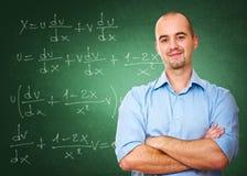 Überzeugter Lehrer Stockfoto