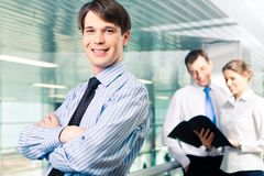 Überzeugter Manager Lizenzfreie Stockfotos
