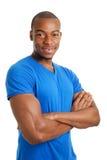 Überzeugter männlicher Kursteilnehmer Lizenzfreies Stockfoto