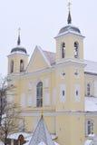 Überziehschutzanlage. Peter-und Paul-orthodoxe Kirche, Minsk Stockbild