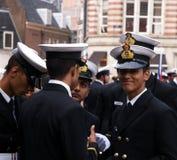 Besättningen ståtar seglar 2015 Royaltyfri Foto