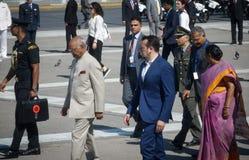 Besök för president Ram Nath Kovind för Indien ` s i Grekland royaltyfri bild