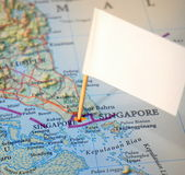 Besök Singapore Royaltyfri Fotografi
