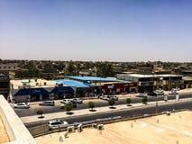 Besök till Misrata i Libyen i 2016 royaltyfria foton