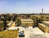 Besök till Misrata i Libyen i 2016 royaltyfri fotografi