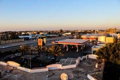 Besök till Tripoli i Libyen i 2016 royaltyfria foton
