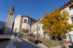 Besöka den forntida italienarefyrkanten arkivbild