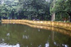 Besökare av den Ho Chi Min uppehållet Arkivbild