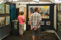 Visitors at the 61th Annual Sidewalk Art Show, Roanoke, VA
