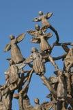 Besłan uczy kogoś pomnika, dokąd terrorystyczny atak był w 2004 Obraz Stock