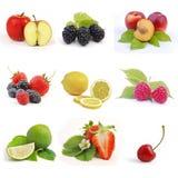 Bes en fruit Stock Foto's