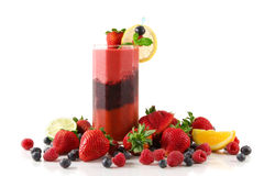 Bes smoothie Stock Foto's