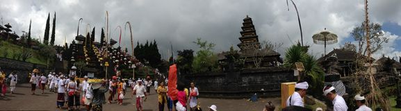 Besakiahtempel in Bali Royalty-vrije Stock Afbeeldingen