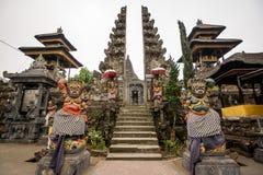 Besakih寺庙,巴厘岛 库存照片