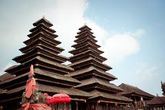 Besakih complex Pura Penataran Agung Stock Image