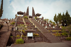 Besakih complex Pura Penataran Agung Stock Photo