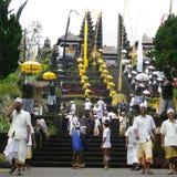 Besakih do templo de Bali Imagem de Stock Royalty Free