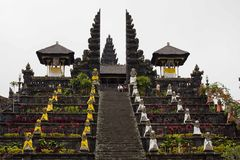 Besakih Mother Temple in Bali Stock Images