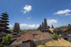 Besakih powikłany Pura Penataran Agung, Hinduska świątynia Bali, Indonezja Fotografia Royalty Free