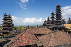Besakih powikłany Pura Penataran Agung, Hinduska świątynia Bali, Indonezja Zdjęcie Stock