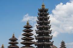Besakih powikłany Pura Penataran Agung, Hinduska świątynia Bali, Indonezja Obraz Stock