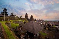 Besakih powikłany Pura Penataran Agung Fotografia Stock