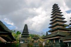Besakih Pura Penataran Agung complessa, Bali, Indonesia Fotografie Stock Libere da Diritti