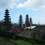 Besakih-Tempel Stockfotografie