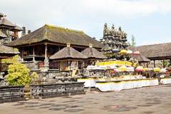 Besakih temple on Bali Stock Image
