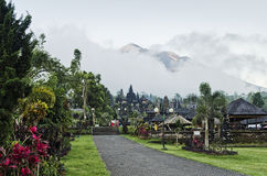 Besakih temple famous landmark attraction in bali indonesia Stock Image