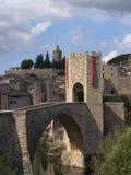 Besalú, Girona (Spanje) Stock Foto