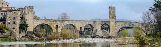 Besallu Spain, a Catalan village Royalty Free Stock Image