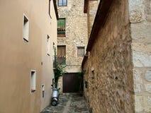 Besalu στην Καταλωνία, Ισπανία Στοκ φωτογραφία με δικαίωμα ελεύθερης χρήσης