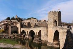 Besalu, Испания Стоковые Изображения RF