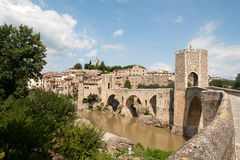 Besalu Catalunya Spain Royalty Free Stock Photography
