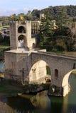 Besalu, Espanha foto de stock royalty free