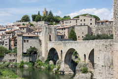 Besalu, Girona Spain Stock Images