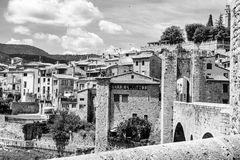 Besalu, Girona Spain Royalty Free Stock Photo