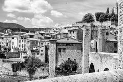 Besalu, Girona Spain Royalty Free Stock Photo