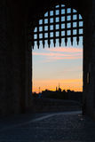 Besalu, Girona Spain Stock Photography