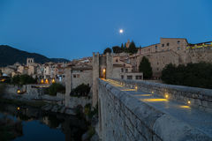 Besalu, Girona Spain Royalty Free Stock Image