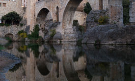 Besalu, Girona Spain Royalty Free Stock Photography