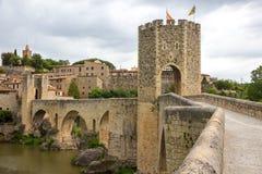 Besalu medieval village Royalty Free Stock Image