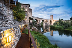 Besalu Royalty Free Stock Photography