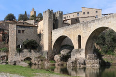 Besalu, Spain Royalty Free Stock Photos